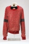 American Music Awards Red V-Neck Sweater With Rhinestones (1981)