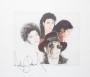 Art Print By Artist Bren Stymest - Signed By Michael In Black (USA)