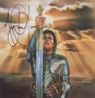 Art Print Of Michael As A Knight Signed By Michael (1980s)