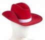 Australian Telethon Red Akubra Hat Worn By Michael Jackson (1985)