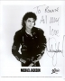 BAD Album Cover Promo Photo Signed By Michael *From MJJ Productions* (1987)