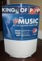 """BAD 25 Limited Edition """"King Of Pop"""" Pepsi Promo Round 2L Display Topper (USA)"""