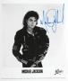 BAD Album Cover Promo Photo Signed By Michael (1987)