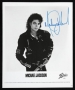 BAD Album Cover Promo Photo Signed By Michael #2 (1987)