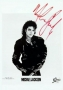 BAD Album Cover Promo Photo Signed By Michael #4 (1987)