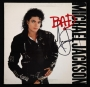 BAD Album Signed By Michael #2 (1987)