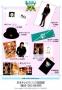 BAD Japan Tour '87 Official Merchandise Promo Flyer (Japan)