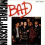 "Bad (5 Mixes) Commercial 12"" Single (USA)"