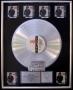 Bad RIAA Platinum Award To Q. Jones For 6 Million Copies Of LP/Cassette Sold In USA