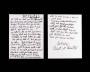 Beat It Handwritten Lyrics (1982)