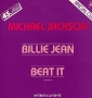 "Billie Jean/Beat It Promo 1 Track 12"" Single (France)"