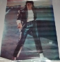 Billie Jean Video Unofficial Commercial Poster (USA)