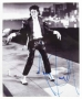 Billie Jean Video Photograph Signed By Michael *B&W* (1983)