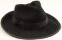 Black Fedora Worn By Michael *Golden Gate Hats* (USA)