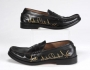 Black Leather Loafers Signed By Michael (Date Unknown)