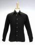 Black Long-Sleeve Shirt Worn By Michael Jackson (1970s)