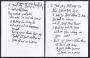 Black Or White Handwritten Lyrics (ca. 1990 USA)
