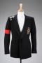 Black Wool Custom Military Style Jacket (1990)