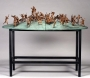 "Bronze Sculpture ""Children Of The World"" By Danie De Jager (1996)"