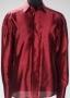 Burgundy Silk Shirt (Date Unknown)