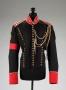 Custom Black Military Jacket Worn & Signed By Michael (1996)