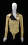 Dangerous Tour Gold Fencing Shirt/Body Suit *Signed By Michael* (1992-93)