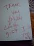 Michael Jackson's Handwritten Note On Hallmark Card W/ Red Marker (NYC 1994)
