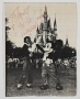 Disneyland Signed 8x10 Photograph (1984)