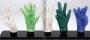 Display Of Five Crystal Gloves (1997)