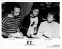 E.T. Storybook Official Promotional 10x8 B&W Photo *MJ, Q, and Spielberg*