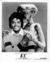 E.T. Storybook Official Promotional 8x10 B&W Photo *Michael With E.T.*