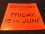 "HIStory Begins Friday June 16th 12""x12"" Promo Display (UK)"