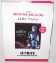 HIStory Past,Present And Future *El Rey Del Pop/El Comercio Magazine* Official Limited Book+CD Set (Perù)
