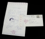 "Handwritten Letter To A Fan By Michael Jackson ""Be Cool"" (1972)"