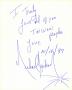 Handwritten Letter to Taiwan by Michael Jackson