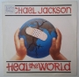 "Heal The World One Sided Promo 7"" Single (Spain)"