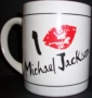 Michael Jackson 'I Love (Lipstick Print)' Unofficial Coffee Mug (USA)