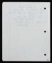 Innocent Man Partial Handwritten Lyrics #7 (1993)