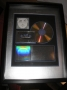 Invincible USA Platinum RIAA Award Presented To Sony Music (2001)