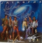 """Jacksons """"Victory"""" LP Cover Flat (Signed By All Six Brothers) *Certified*"""