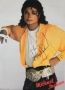 Liberian Girl Photoshoot Commercial Poster Signed By Michael (1989)