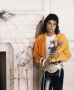 Liberian Girl Photoshoot Picture Signed By Michael (1989)