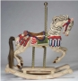 Liz Taylor Gifted Carousel Horse