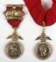 Medals With Profile Of Roman Soldier (1984)