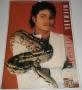 (1991) Michael Jackson Unofficial Calendar (Culture Shock) (UK)