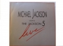 Michael Jackson With The Jackson Five Live Commercial LP Album Reissue (UK)