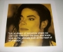 "Michael Jackson ""Dream"" Official 16""x16"" Commercial Print *iQuote* (UK)"