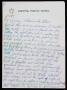 Michael Jackson Handwritten Letter To Camera Operator William Pecchi (1988)