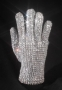 Michael Jackson Worn White Swarovski Glove *From Victory Tour* (1984)