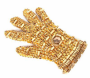 "Michael Jackson Gold Crystal ""Fantasy Glove"" (1984)"